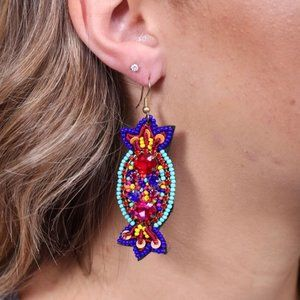 NWT Candyland Embellished Earring Multi